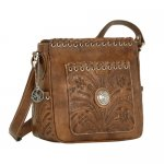 Harvest Moon Zip-top Crossbody Bag