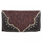 Hill Country Ladies Tri Fold Wallet